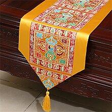 Shopping- Chinesische Seidenhirten-Tischläufer-Tischdecke-Bett-Fahnen-Tuch Art ( größe : 33*180cm )