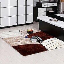 Shopping-Einfache, moderne Teppich Wohnzimmer Schlafzimmer Nacht verdickte Teppiche