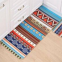Shopping-Eingang Bodenmatte Fußmatte Badezimmer Fussboden rutschfeste Matte Schlafzimmer Jigsaw Bodenmatte Badezimmer Osmanen Küche Ma