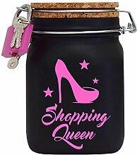 Shopping Queen XXL-Spardose die Geld Geschenk-Idee