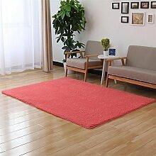 Shopping-Schöne Samt-Teppich Wohnzimmer Schlafzimmer Bedside Tatami Teppich Sofa Rechteckige Teppich