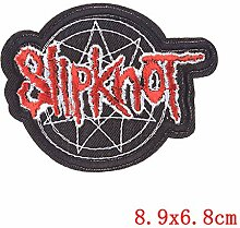 Shoppy Star Pulaqi Totenkopf-Aufnäher Punk Stil