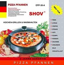 Shov Partypfanne Pizzapfanne Wokpfanne Elektrische