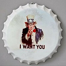 shovv Metallblechschild American Retro 35cm