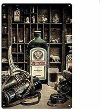 shovv Vintage Metallblechschild Pub Bar Dekoration