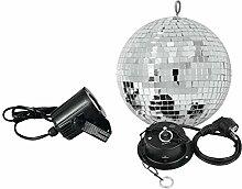 showking Discokugel-Set Night Fever mit silberner