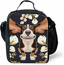 showudesigns Animal Flower Lunch Bag Isolierte