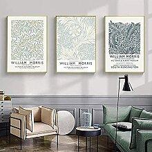 SHPXMBH Leinwanddrucke Nordic William Morris