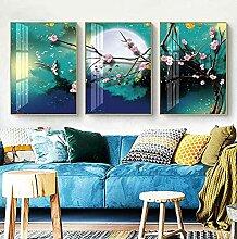 SHPXMBH Moderne Bilder Leinwand Wandkunst Nordic