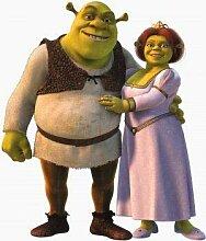 Shrek – Textlos Film Poster Plakat Drucken Bild