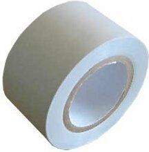 SHT 1 x Klebeband PVC 10m x 30mm hellgrau für PUR Rohrisolierung Isolierung
