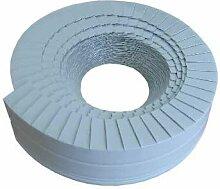 SHT Lamellenband Abschlussband 10m x 30mm hellgrau für PUR Rohrisolierung Isolierung