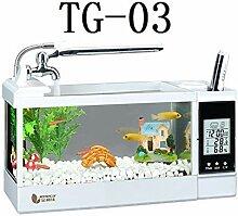 Shuaienfushi Tisch-Aquarium, multifunktional,
