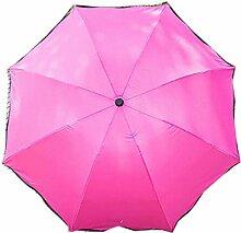 Shuang Yu Zuo Damen Sonnenschutz UV Regenschirm,A2