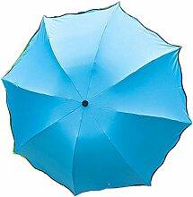Shuang Yu Zuo Damen Sonnenschutz UV Regenschirm,A5
