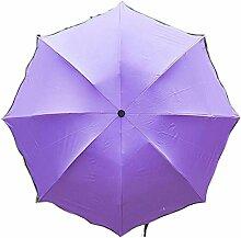Shuang Yu Zuo Damen Sonnenschutz UV Regenschirm,A7