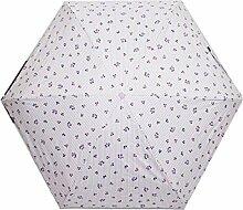 Shuang Yu Zuo Damen UV Super Sonnenschutz Regenschirm,Grey