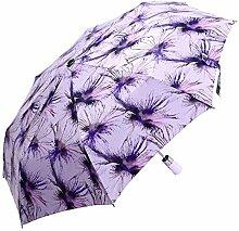 Shuang Yu Zuo Seide Super Sonnenschutz Sonnenschirm,Purple