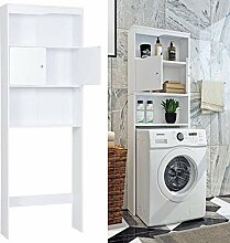SHUANGJUN Badschrank Waschmaschinenschrank