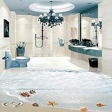 Shuangklei 3D Boden Wandbild Pvc Tapete Moderne