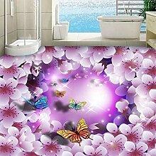Shuangklei 3D Bodenfliesen Wandbild Tapete Moderne