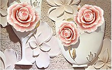 Shuangklei Jade Carving 5D Papierwandbild Tapete