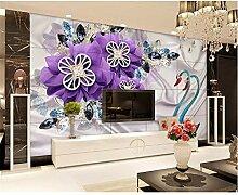 Shuangklei Stereo Tapete Für Wände 3D Luxus