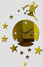Shuangklei Wanduhr Uhr Dekoration