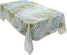 Shuda Tischdecke im Landhausstil, rechteckig, für