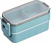 SHUHAO Bento Box, Lunchbox Für Erwachsene Kinder,