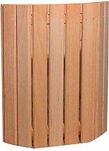 SHUIXIN Saunalampe aus Holz + Halbrund praktischer