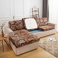Shujin 1 Stück Sofa Sitzkissenbezug Samt Stretch