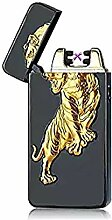 SHUNING Double Arc USB Feuerzeug, Elektronisches