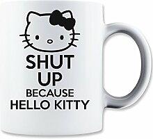 ShutUp and Hello Kitty Mug
