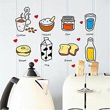 Shuyinju Aufkleber Der Küche 3D Für Kühlschrank