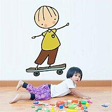Shuyinju Cartoon Skateboard Hero Roller Skater