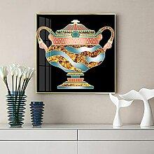 SHYJBH Bilddrucke Drucke Kreative Vasenmalereien