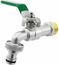 SHYNE Premium 3/4 Zoll Wasserhahn aus Messing