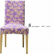 Siamesische Büro Stuhl Sitzbezug/ minimalistisch Esszimmer Stuhl Sitzbezug/Hotel Spandex Chair Cover-J