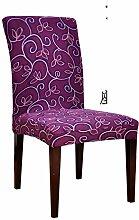 Siamesische Büro Stuhl Sitzbezug/ minimalistisch Esszimmer Stuhl Sitzbezug/Hotel Spandex Chair Cover-D