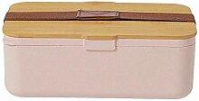 Sichere tragbare auslaufsichere Lunchbox aus