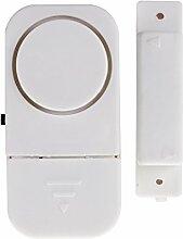 Sicherheit drahtloses SODIAL 6 Türen und Fenster Eintrage Alarmanlage einfach -, Batterien zu installieren, !