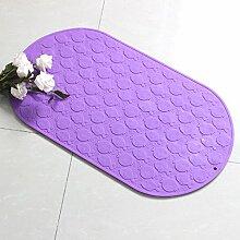 Sicherheits- und Umweltschutzmaterial --- Kieselgel Mit Saugnapf Badematten Baby-Baby-Badematte Matten Fußauflage --- mit Saugnäpfen Badmatten ( Farbe : 2 , größe : 34*57cm )