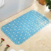 Sicherheits- und Umweltschutzmaterial --- PVC Geschmacklos Badematten Fußmassage Fußauflage Matten --- mit Saugnäpfen Badmatten ( Farbe : 3 , größe : 46*77cm )