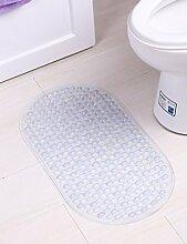 Sicherheits- und Umweltschutzmaterial --- PVC Mit Saugnapf Anti-Rutsch-Matte Badezimmer-Matten Fußauflage Badematten --- mit Saugnäpfen Badmatten ( Farbe : 3 )