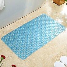 Sicherheits- und Umweltschutzmaterial --- PVC Mit Saugnapf Badematten Massage-Fußmatten Badematten Hygienische Fußauflage --- mit Saugnäpfen Badmatten ( Farbe : 9 )