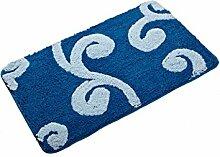 Sicherheits- und Umweltschutzmaterial --- Super weiches Absorptionsmittel Badezimmer Teppich Fußabtreter Badewanne Anti-Rutsch Fußauflage --- mit Saugnäpfen Badmatten ( Farbe : A )