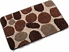 Sicherheits- und Umweltschutzmaterial --- Superabsorber Anti-Rutsch Fußabtreter Badezimmer Fußauflage Fußmatten --- mit Saugnäpfen Badmatten ( Farbe : B )