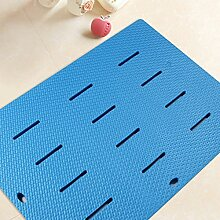 Sicherheits- und Umweltschutzmaterial - L Geschmacklos PVC Badematten Matten Fußauflage - mit Saugnäpfen Badmatten (Farbe : 3)