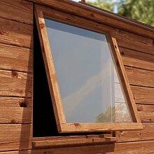 Sicherheitsscheibe für Schuppenfenster, Acryl / Plastik, klar, 5mm dick, diverse Größen, - 610x 610mm